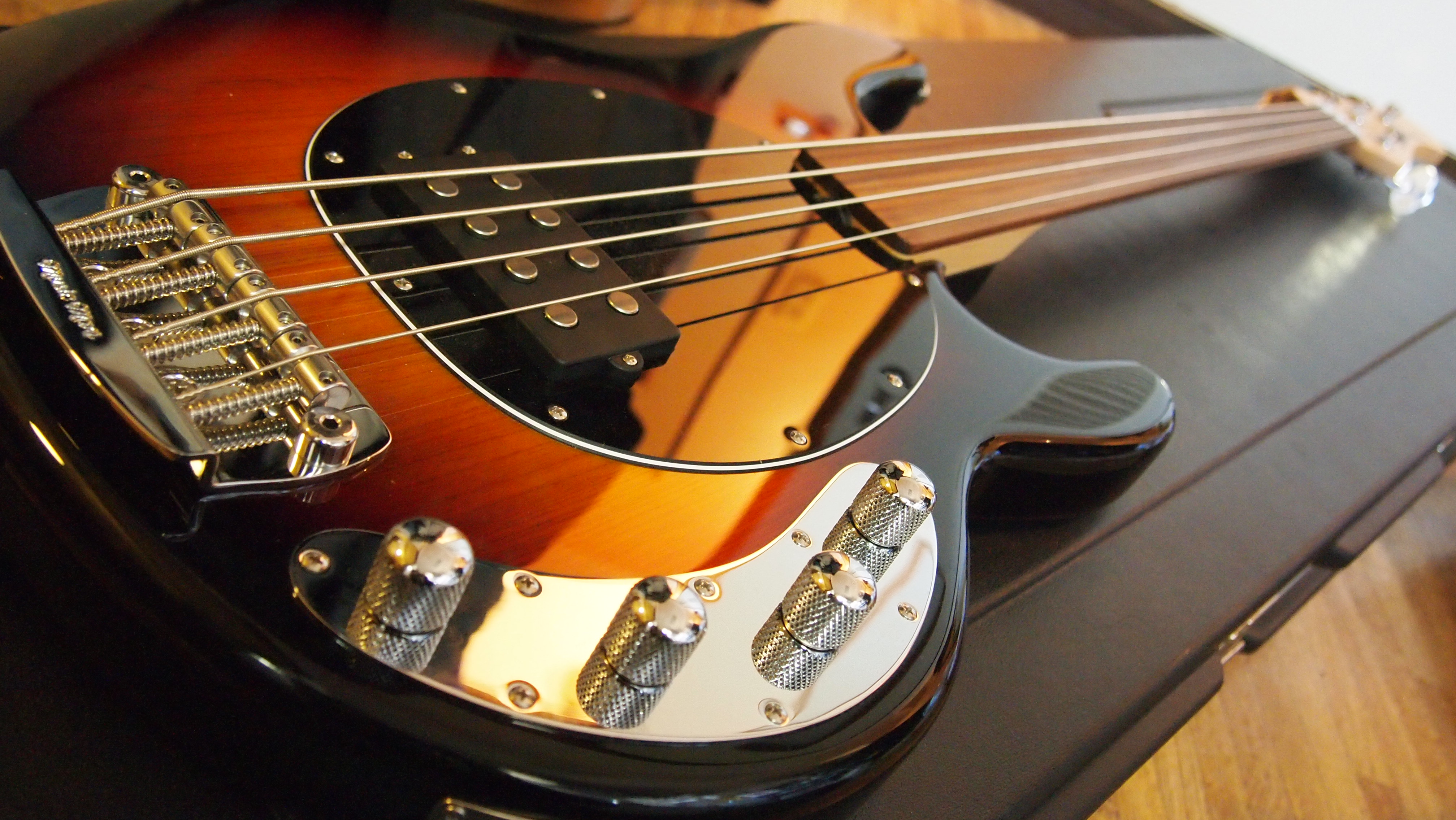 Leo Fender & Music Man Stingray Bass - Andertons Music Co.