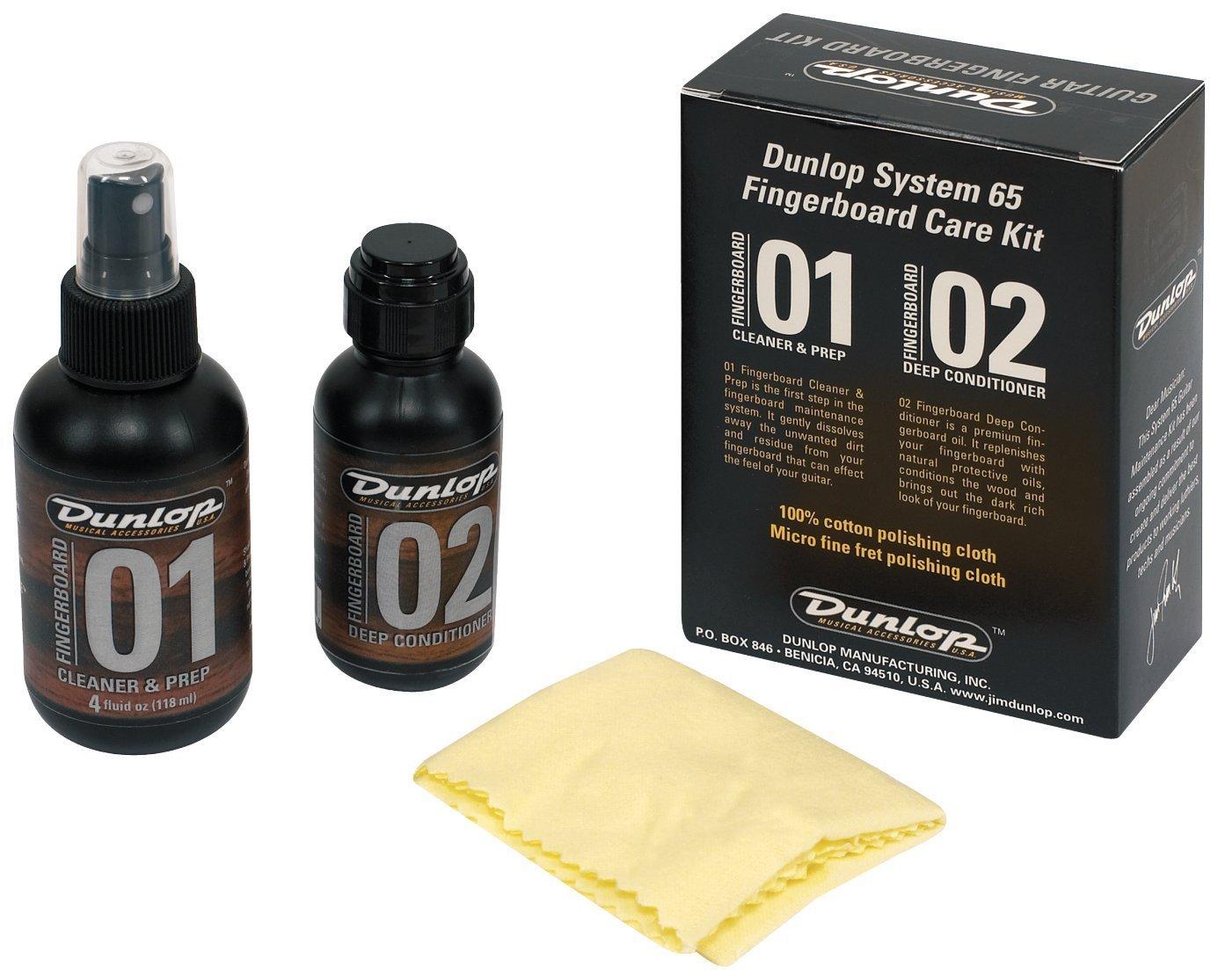 Dunlop System 65 Fingerboard Care Kit