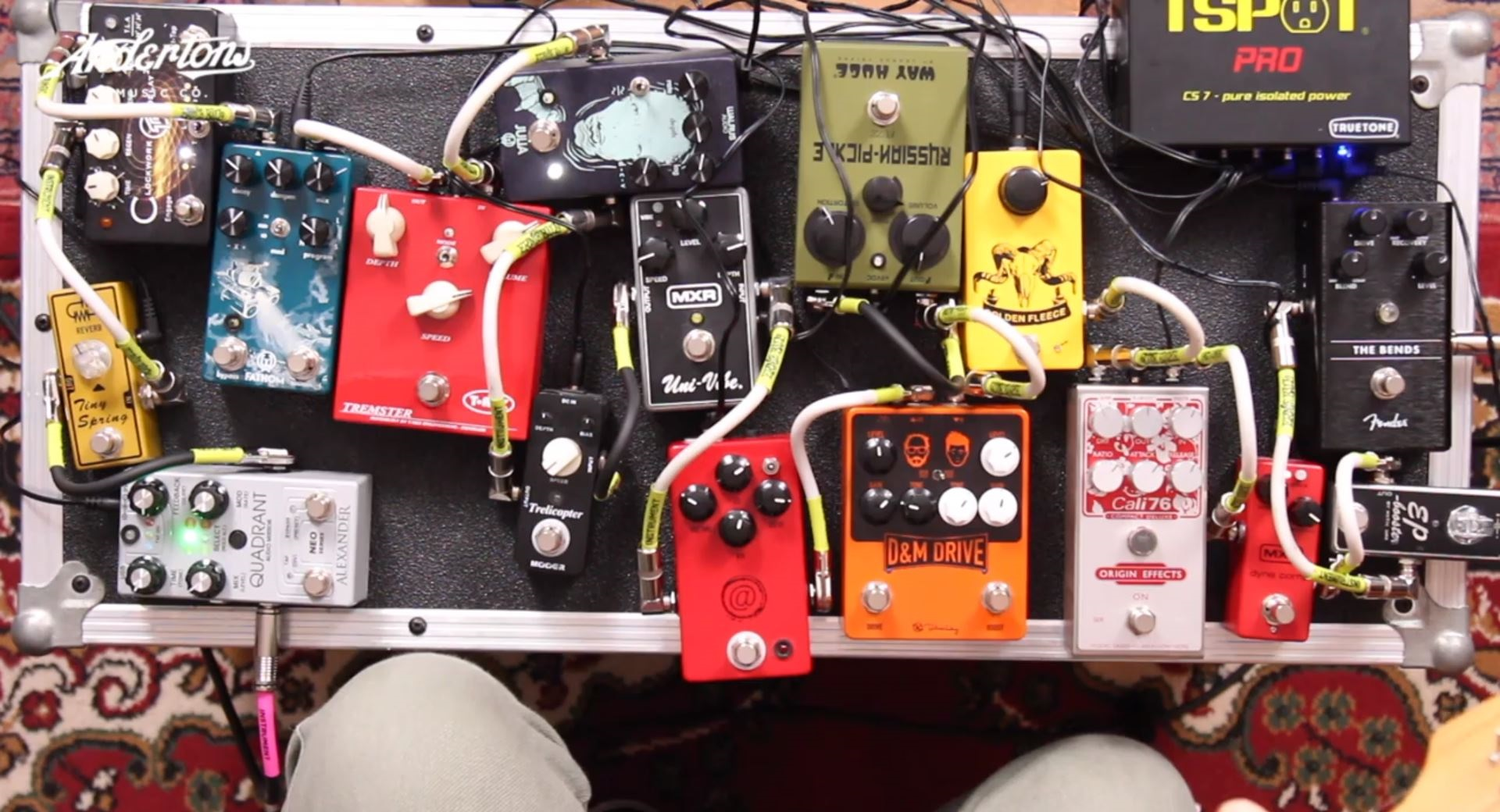 16 Pedal Signal Chain - Andertons Music Co.