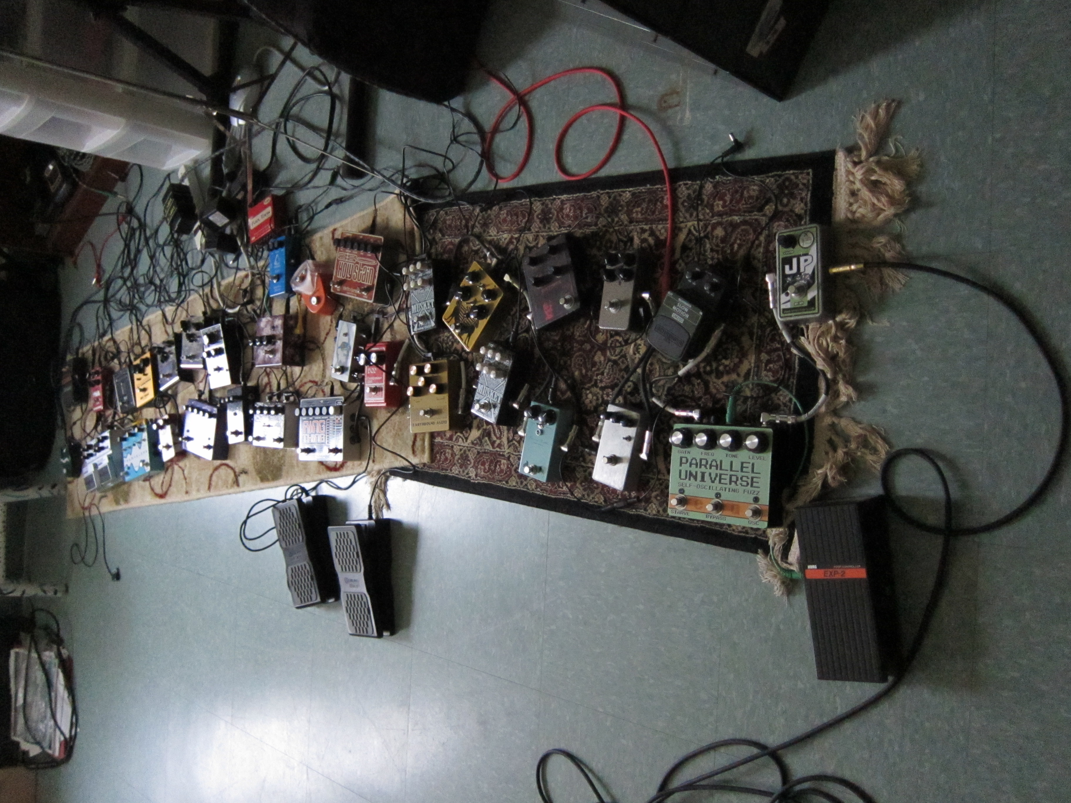 Can Too Many Guitar Pedals Weaken Your Signal Chain Andertons Blog Univibe Pedal Wiring Diagram