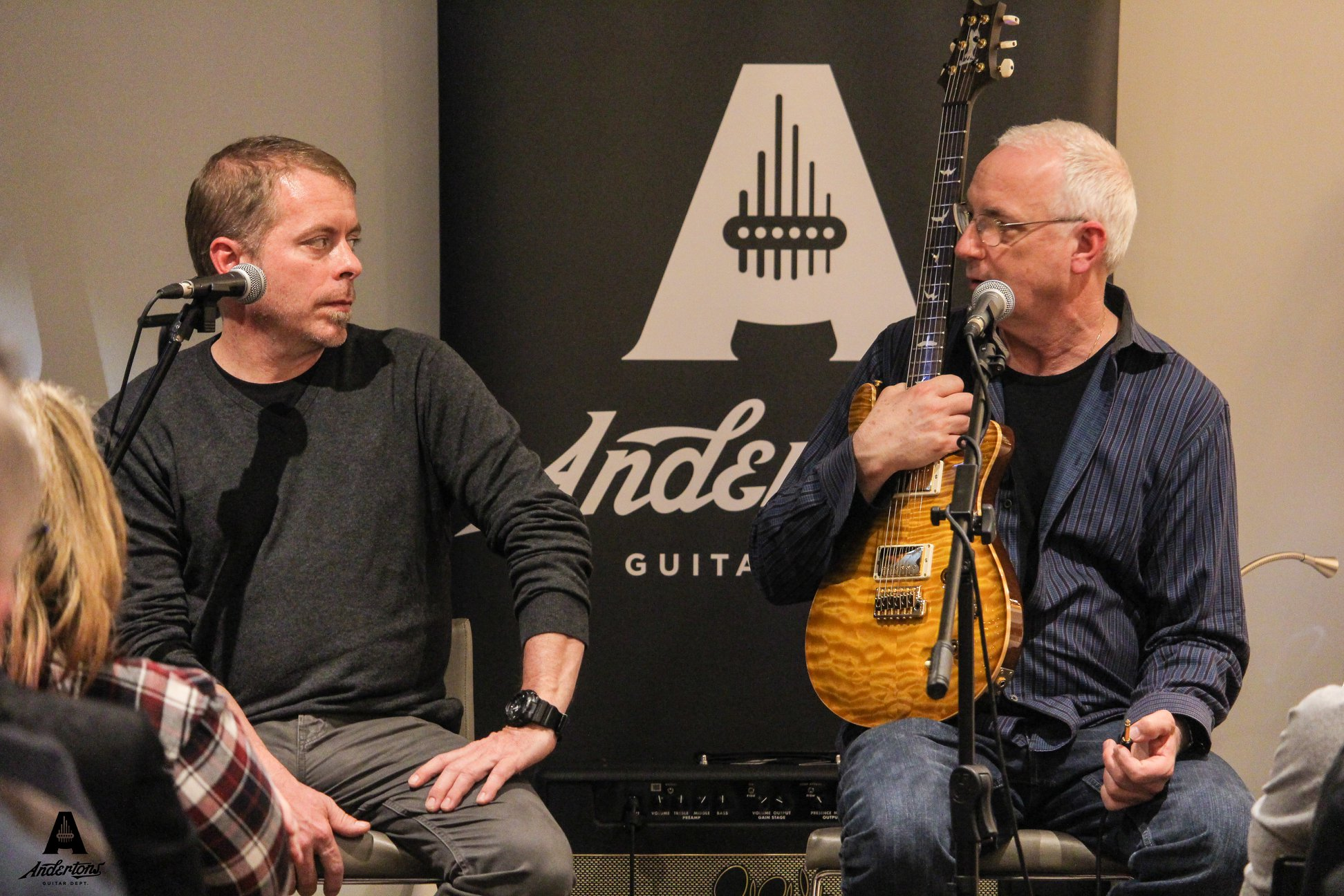 Paul Miles and Paul Reed Smith - Andertons Music Co.