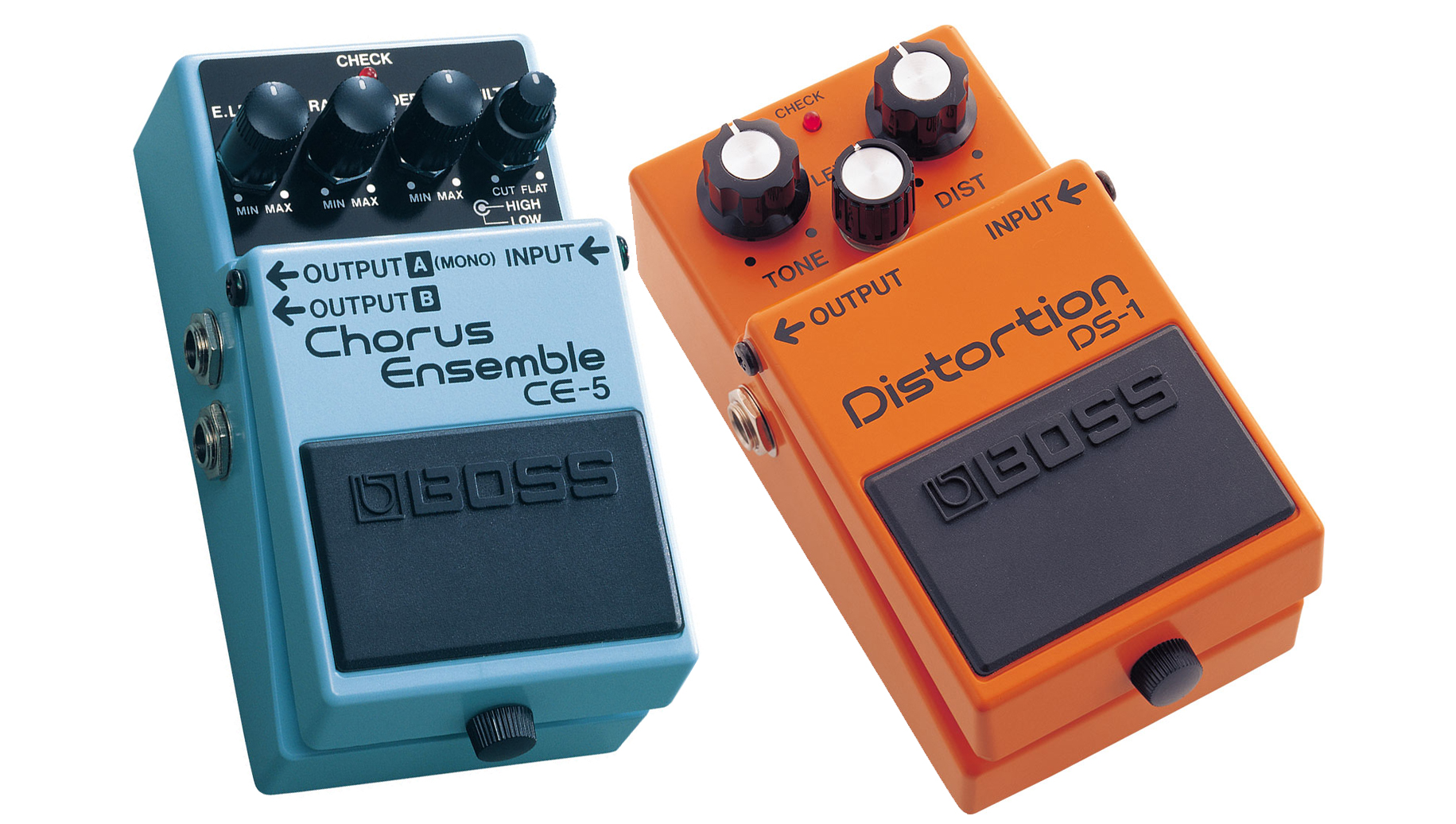 Boss DS-1 Distortion / CE-5 Chorus Ensemble