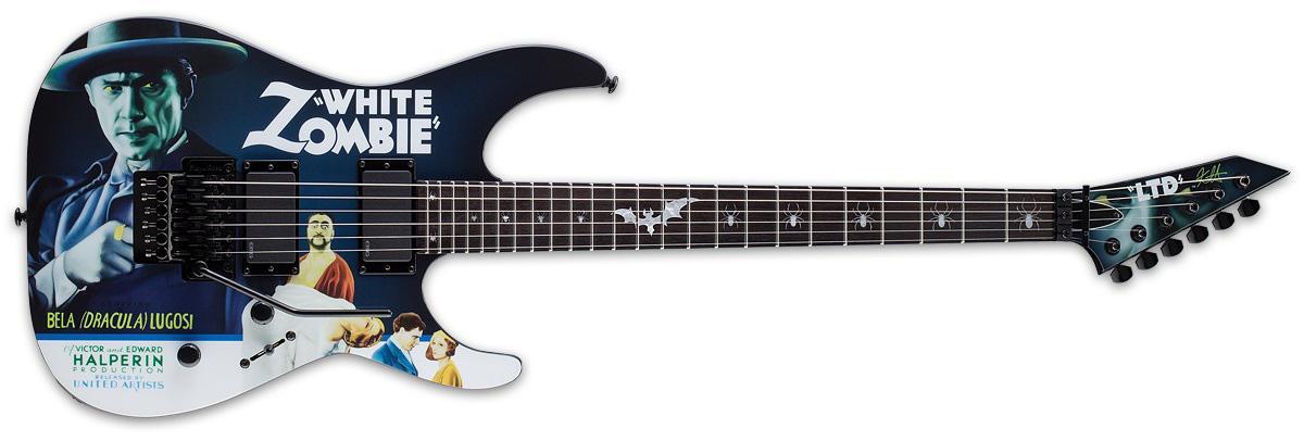 ESP LTD White Zombie Kirk Hammett Signature Guitar