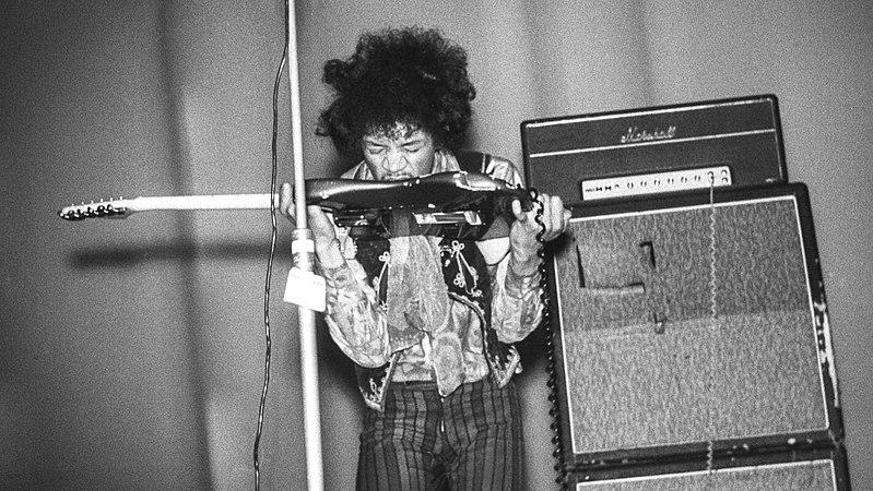 Jimi Hendrix Marshall Stack