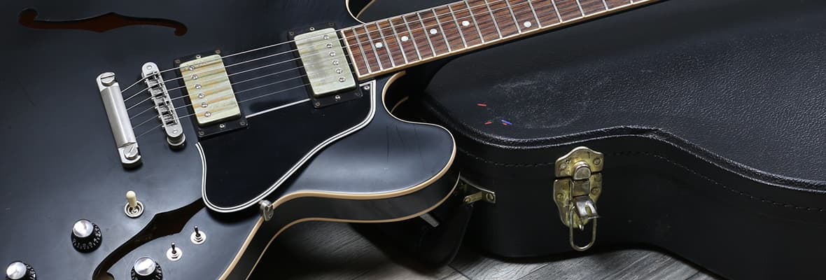 Gibson ES-335 Black Satin