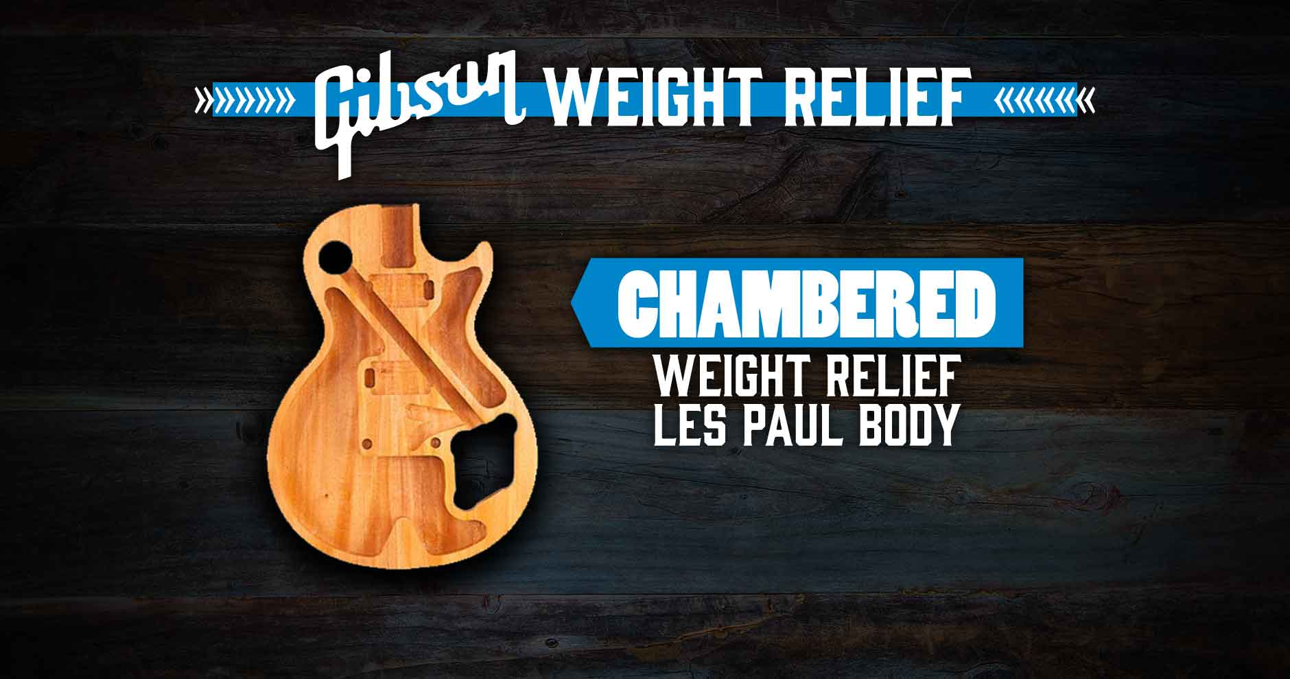 Gibson Weight Relief - Chambered - Andertons Music Co.