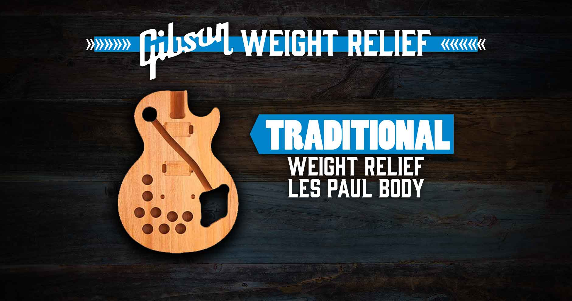 Gibson Weight Relief - Traditional - Andertons Music Co.