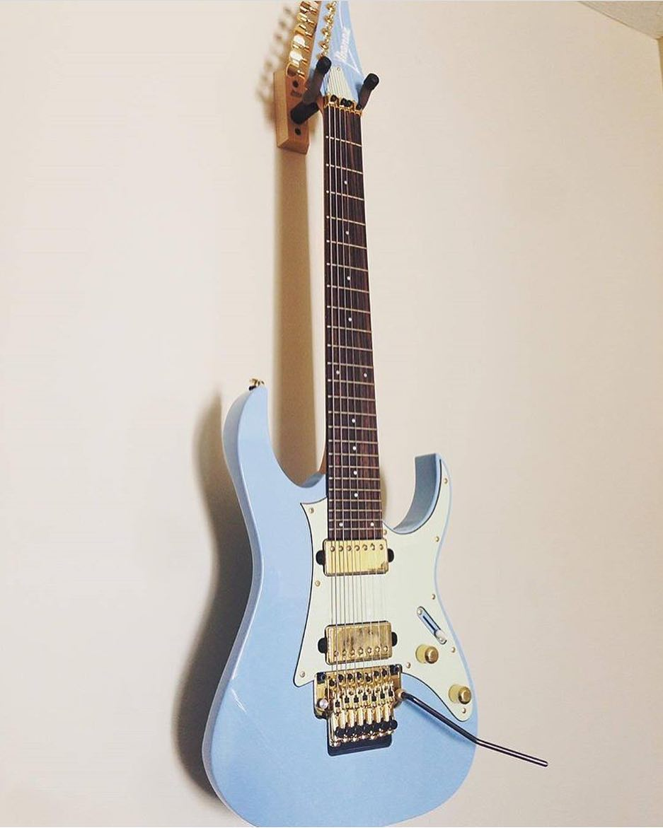 Ibanez LACS 7-string - Robby Baca, The Contortionist - Andertons Music Co.