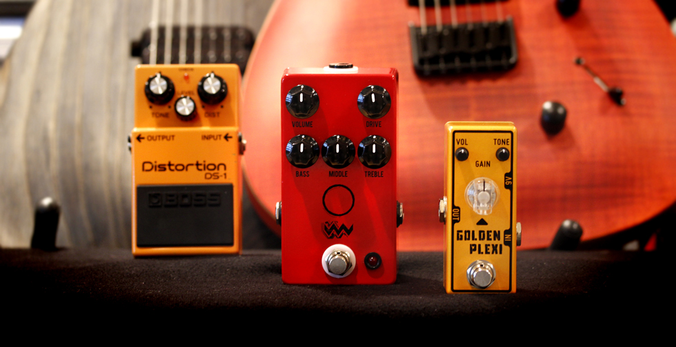 Distortion Pedals for your Pedalboard