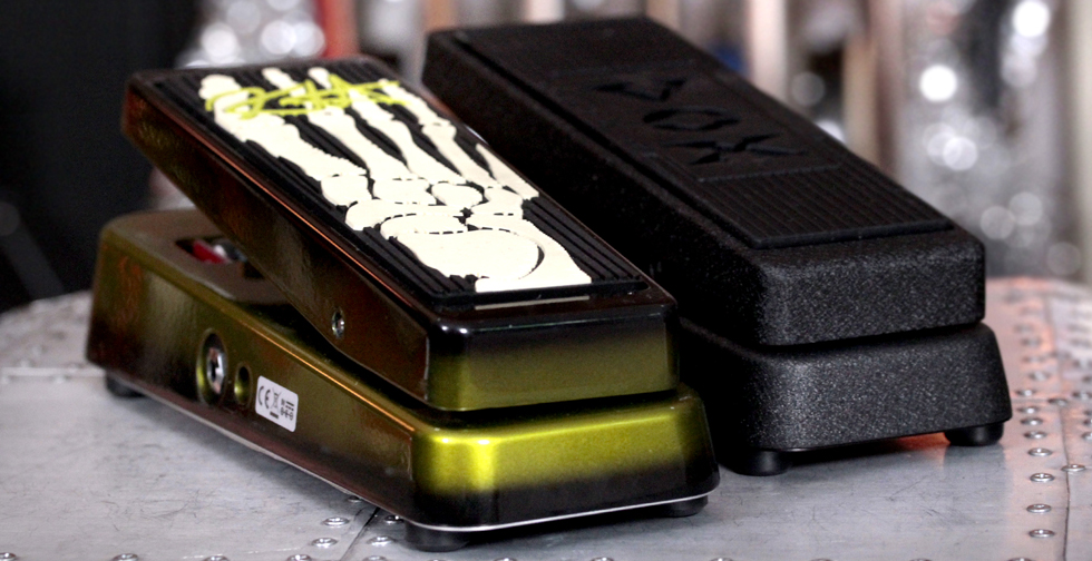 Wah Pedals on a Pedalboard