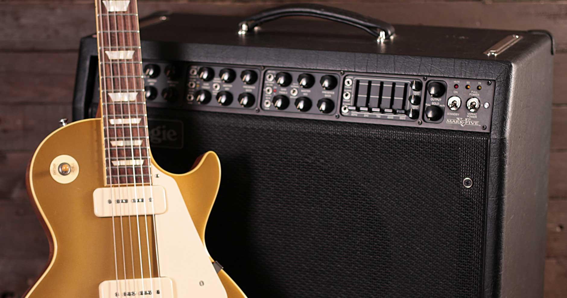 Electric guitar amp.