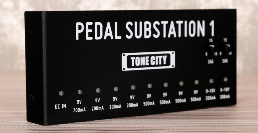 Affordable Pedal Power Supply