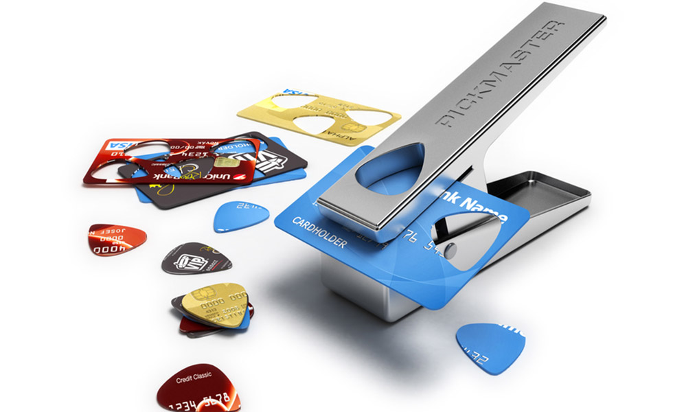 Guitar pick puncher christmas