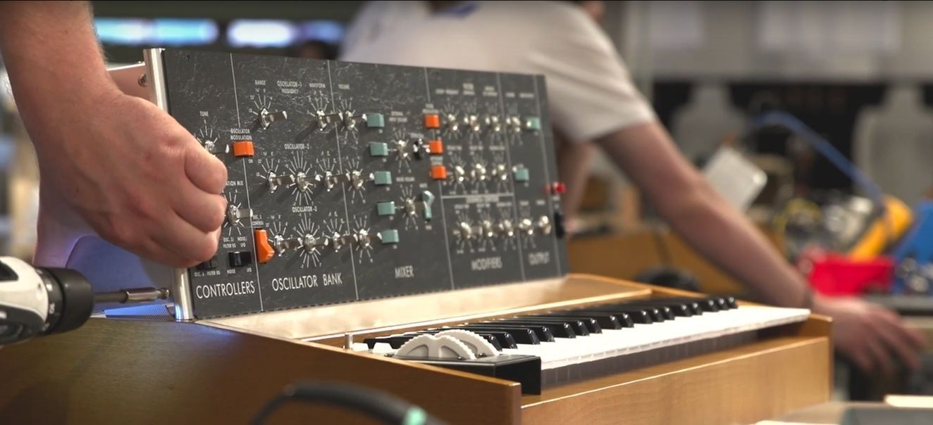 Analog Synth Manufacture - Andertons Music Co.