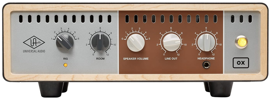 Universal Audio OX Front Panel