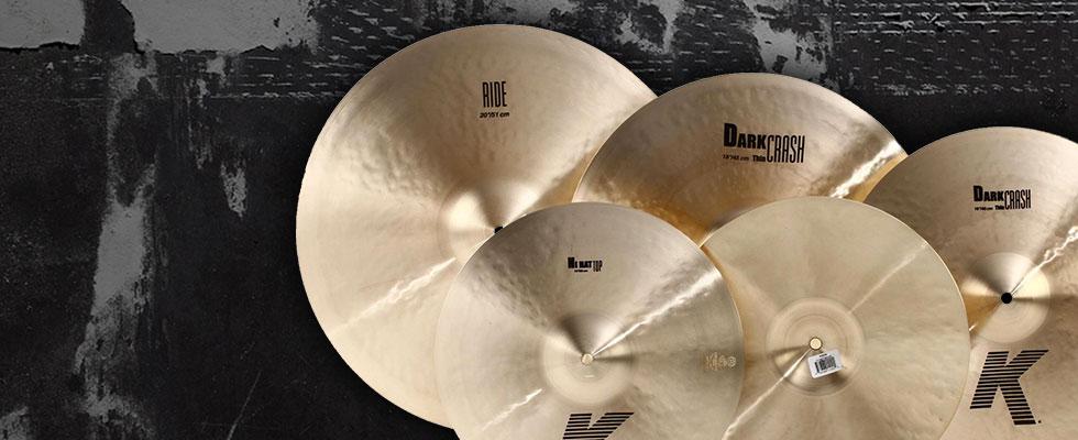 dark cymbals