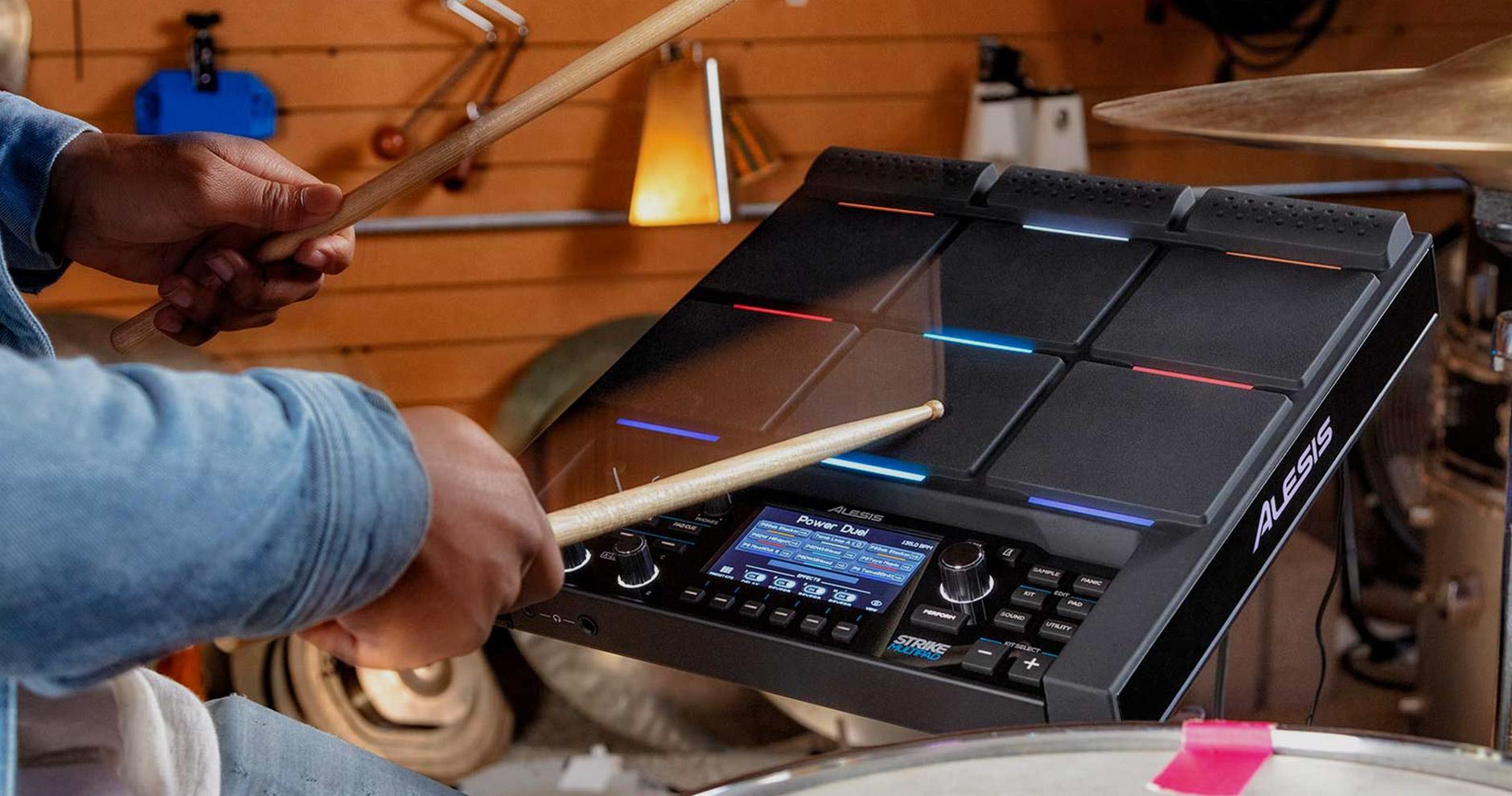 Alesis Strike MultiPad vs Roland SPD-SX Drum Pads - Andertons Blog