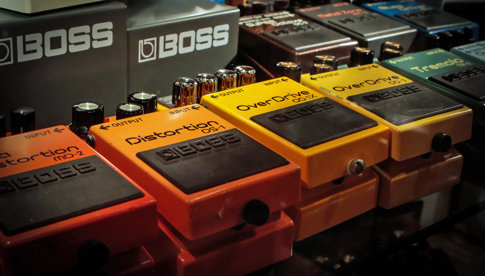 BOSS Pedals at Andertons Music Co.