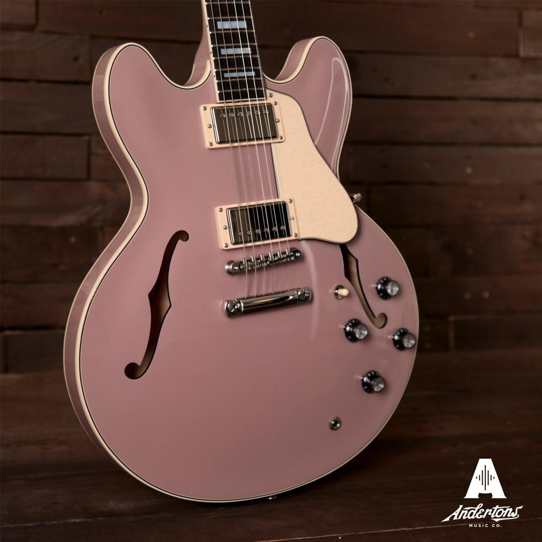 Gibson es-335 rose pink