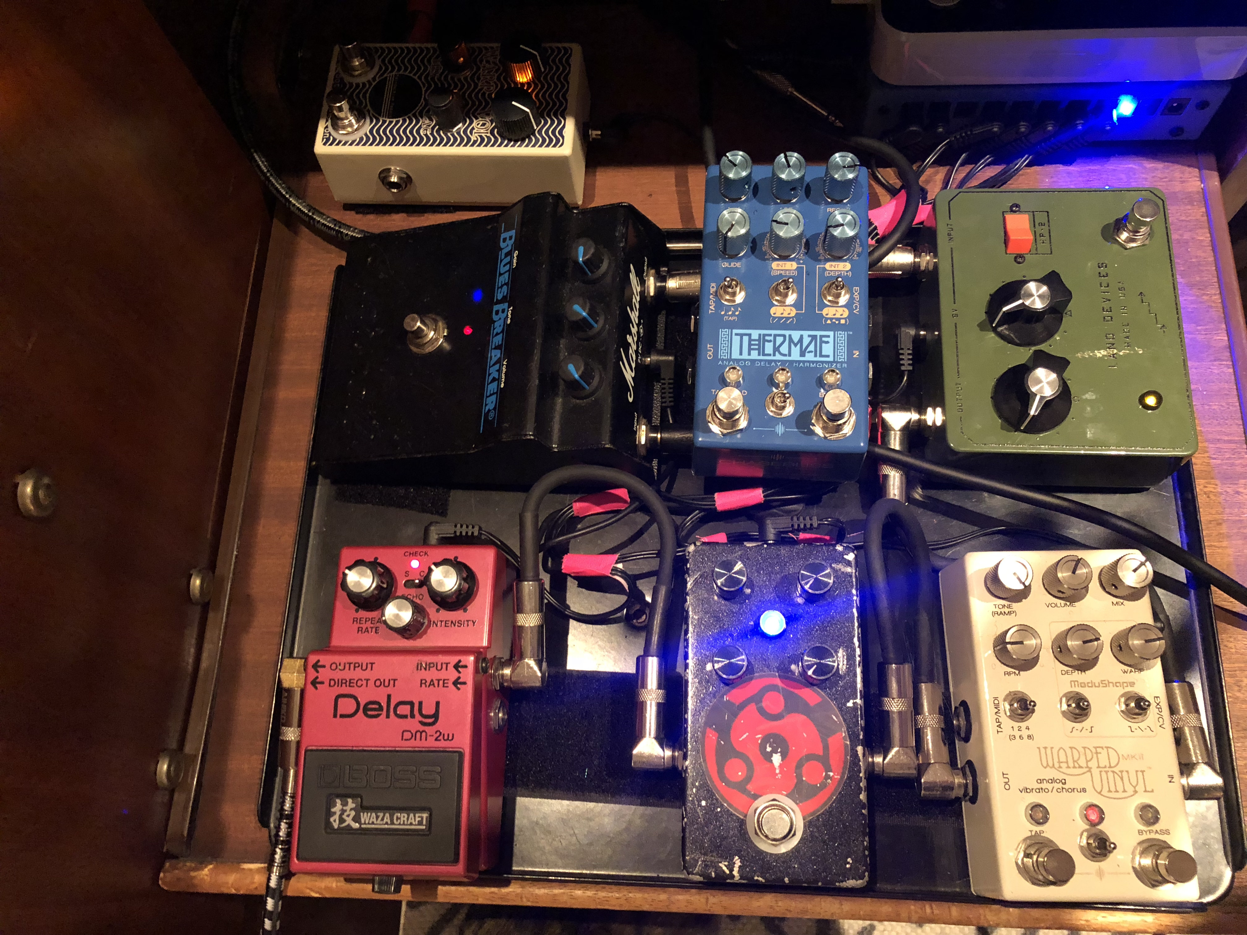 Kai Smith's Studio Pedalboard - Andertons Music Co.