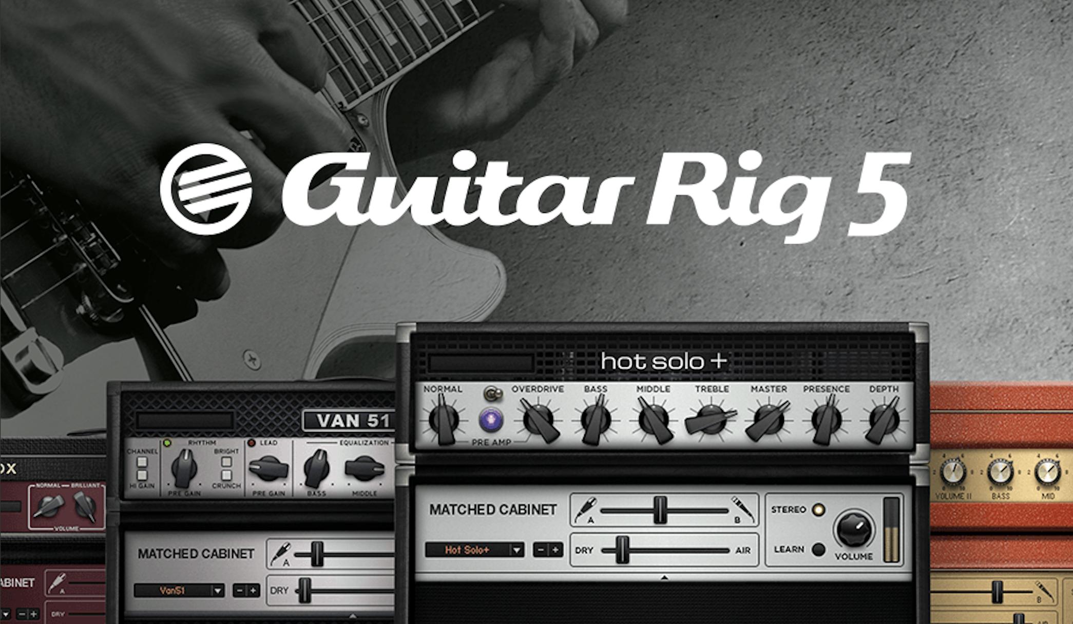Native Instruments Guitar Rig 5 Guitar Plugins