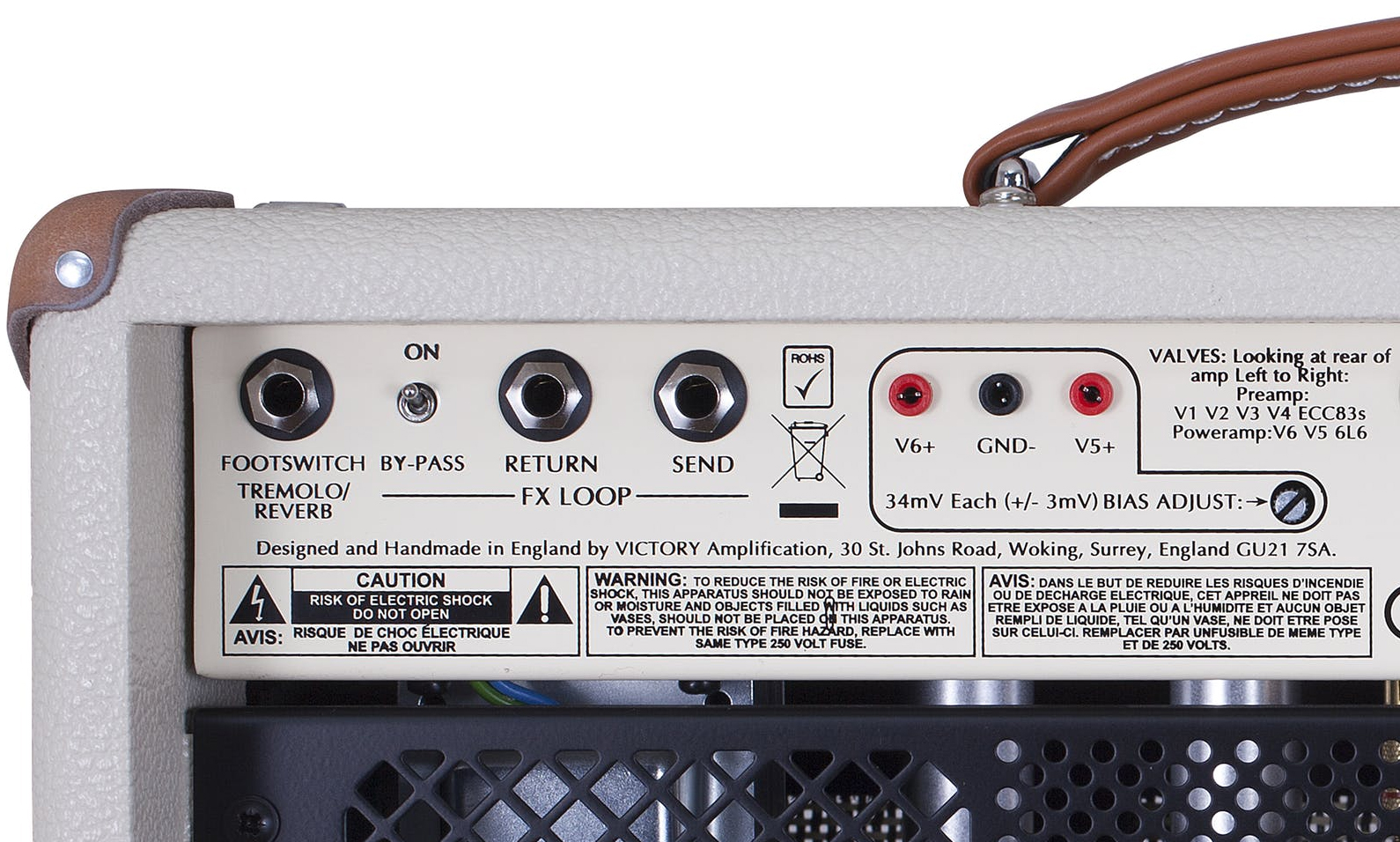Effects Loop on a Victory Amp
