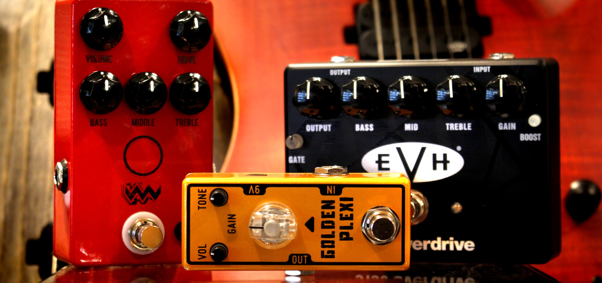 Using guitar distortion pedals with a bass - Andertons Music Co.