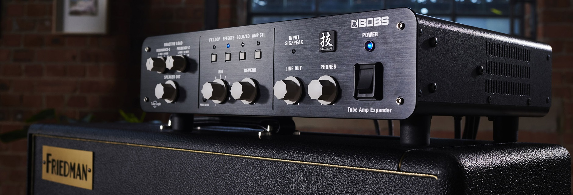 Boss' Tube Amp Expander - Andertons Music Co.