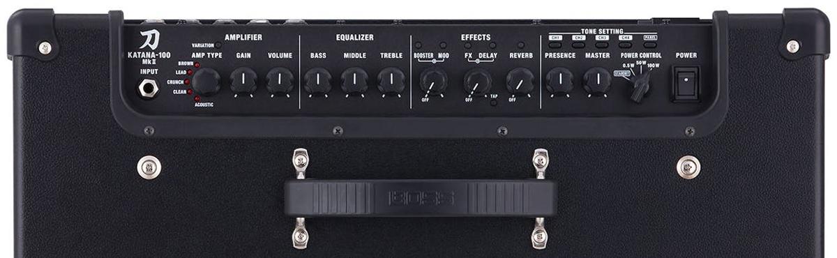 BOSS Katana MkII Amp Panel