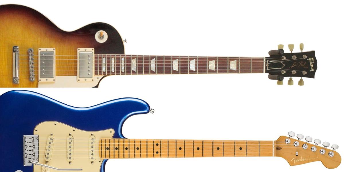 Gibson Les Paul vs. Fender Stratocaster Scale Length