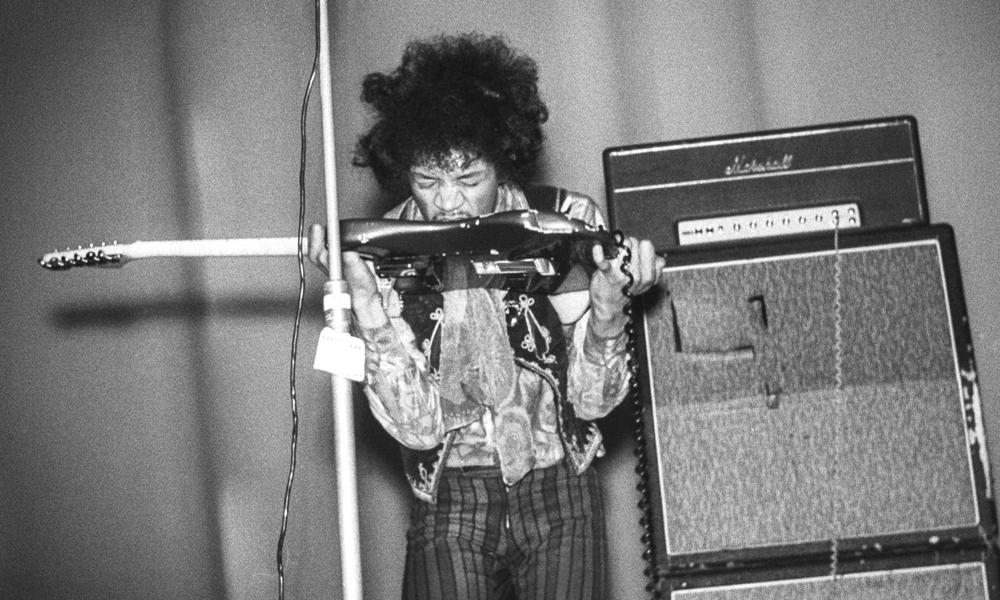Fender Marshall Jimi Hendrix