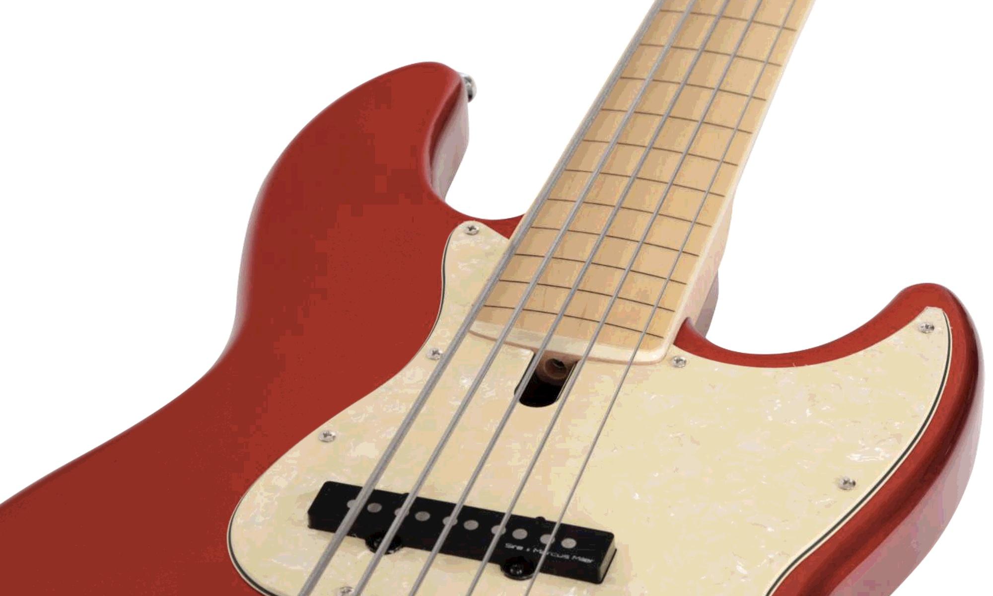 Fretless Bass Fingerboard