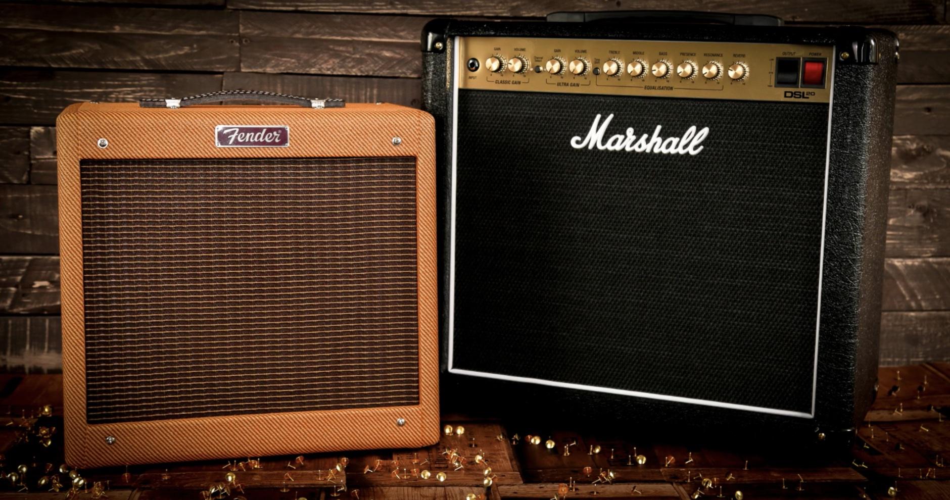 Pedal Platform Amps Fender Marshall