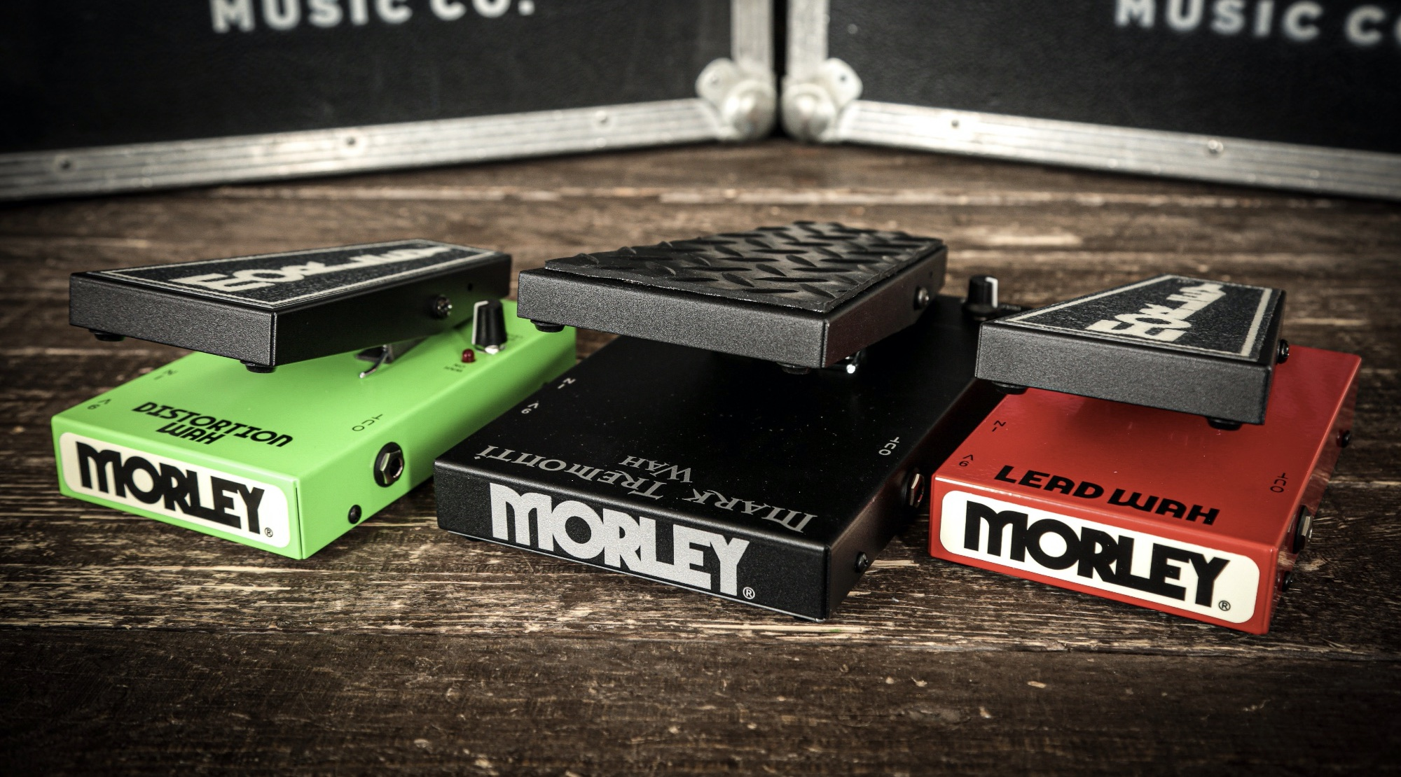 Morley Wah Pedals