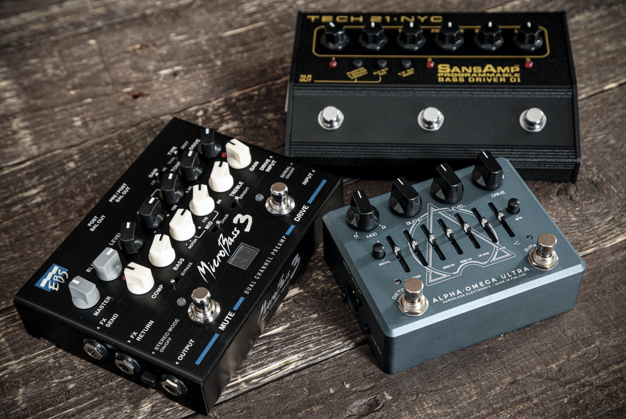 What is the Best Best Bass Preamp Pedal