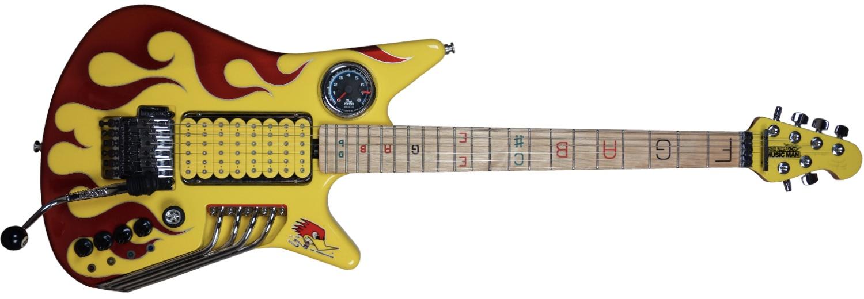 Ernie Ball Music Man Mr. Horsepower Nigel Tufnel Guitar
