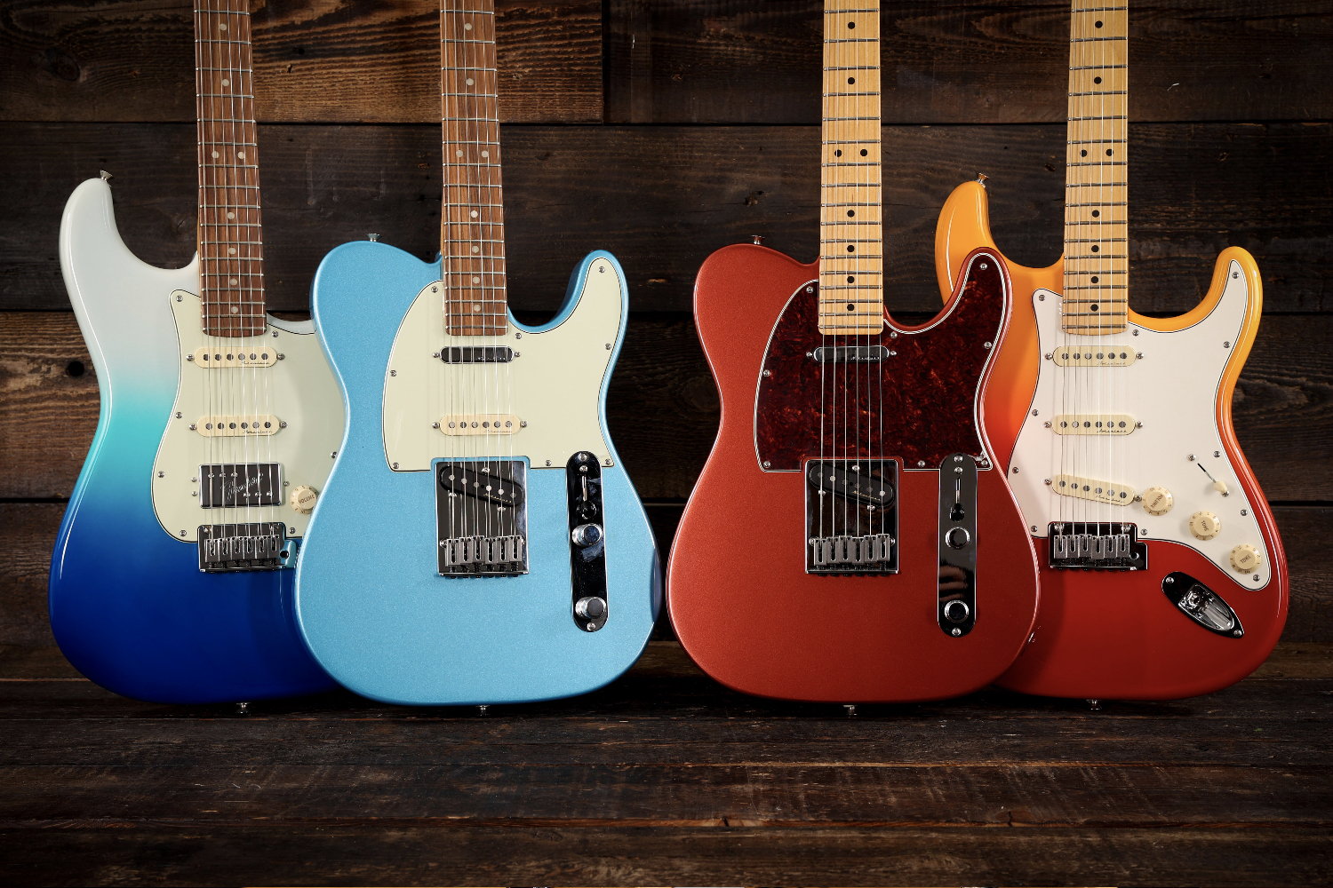 Fender Player Plus vs Player Series Group