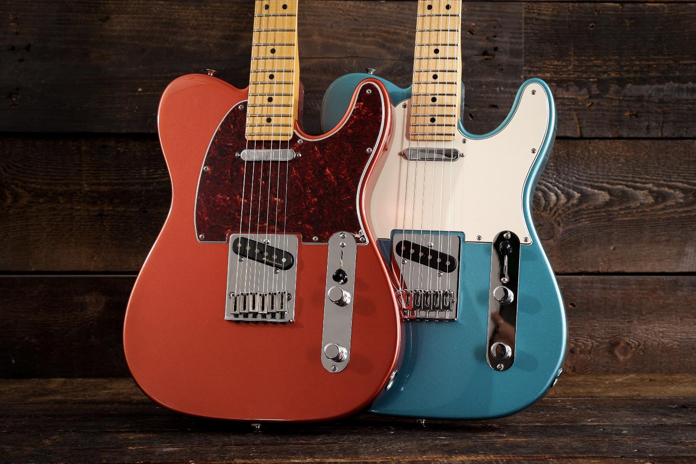 Fender Player Plus vs Player Series Similarities