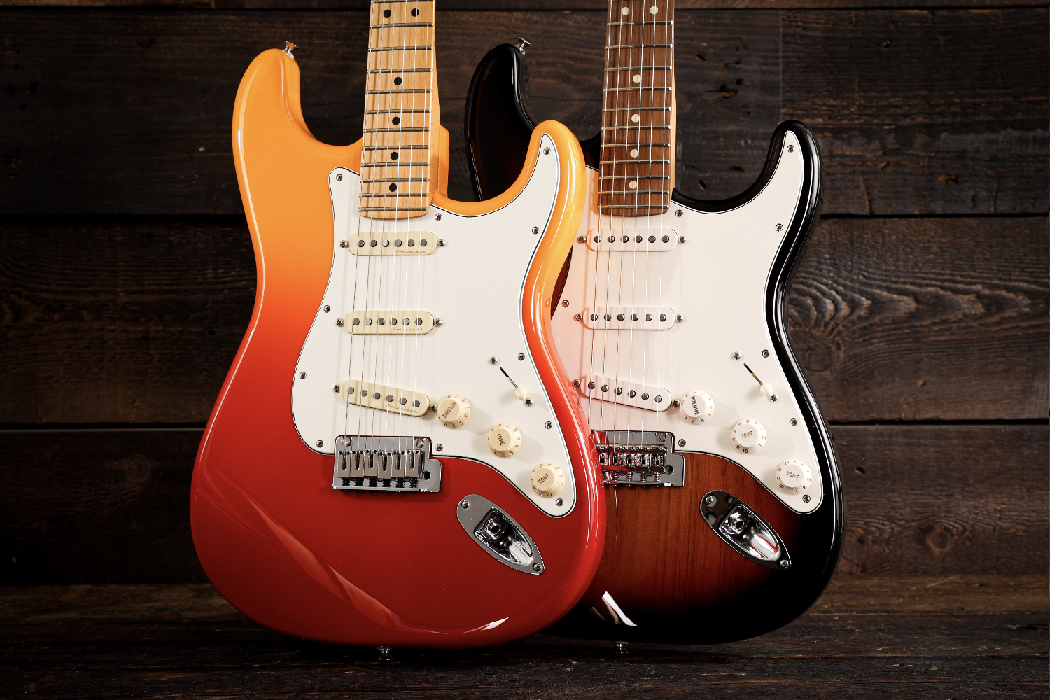 Fender Player Plus vs Player Series Strats