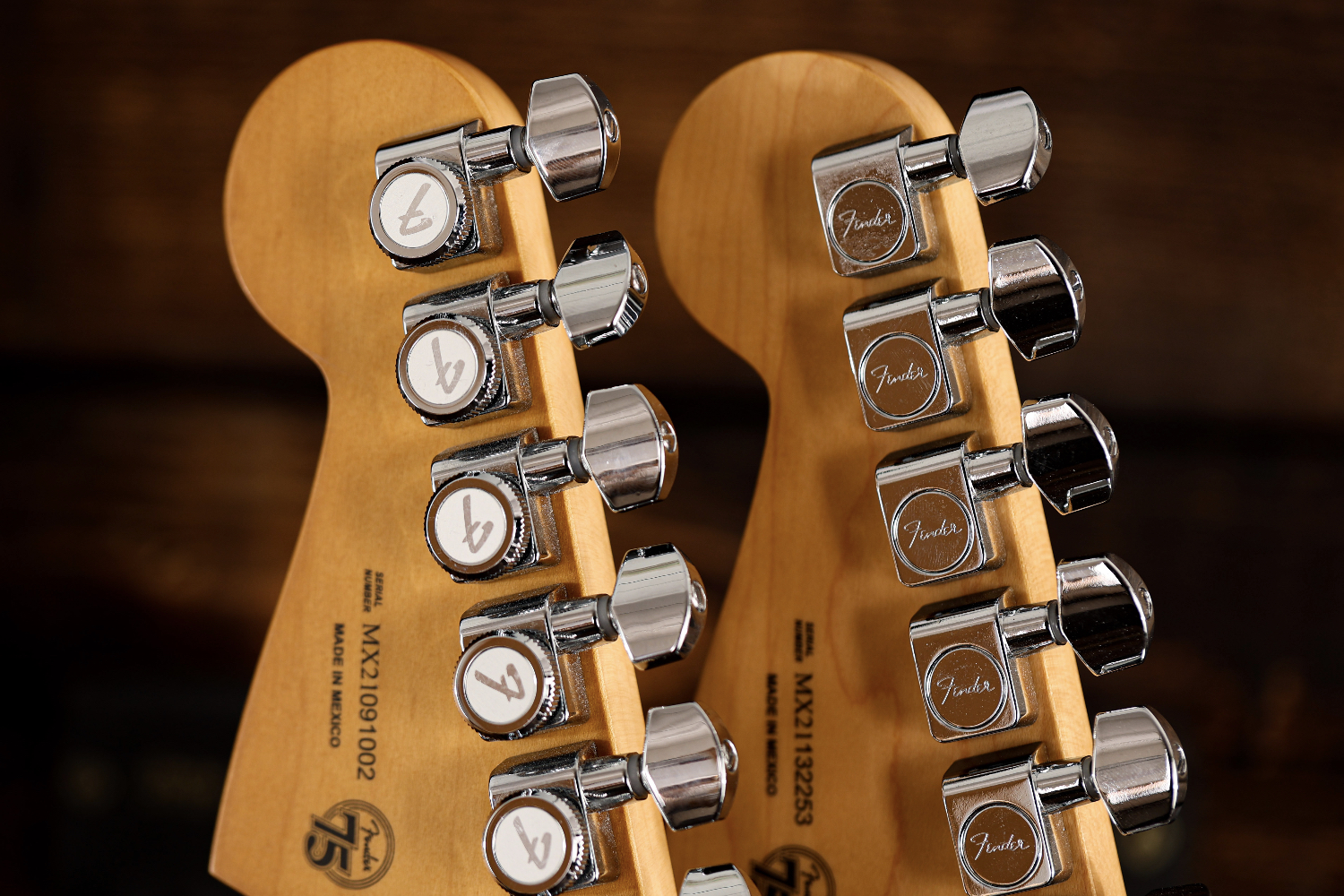 Fender Player Plus vs Player Series Tuners