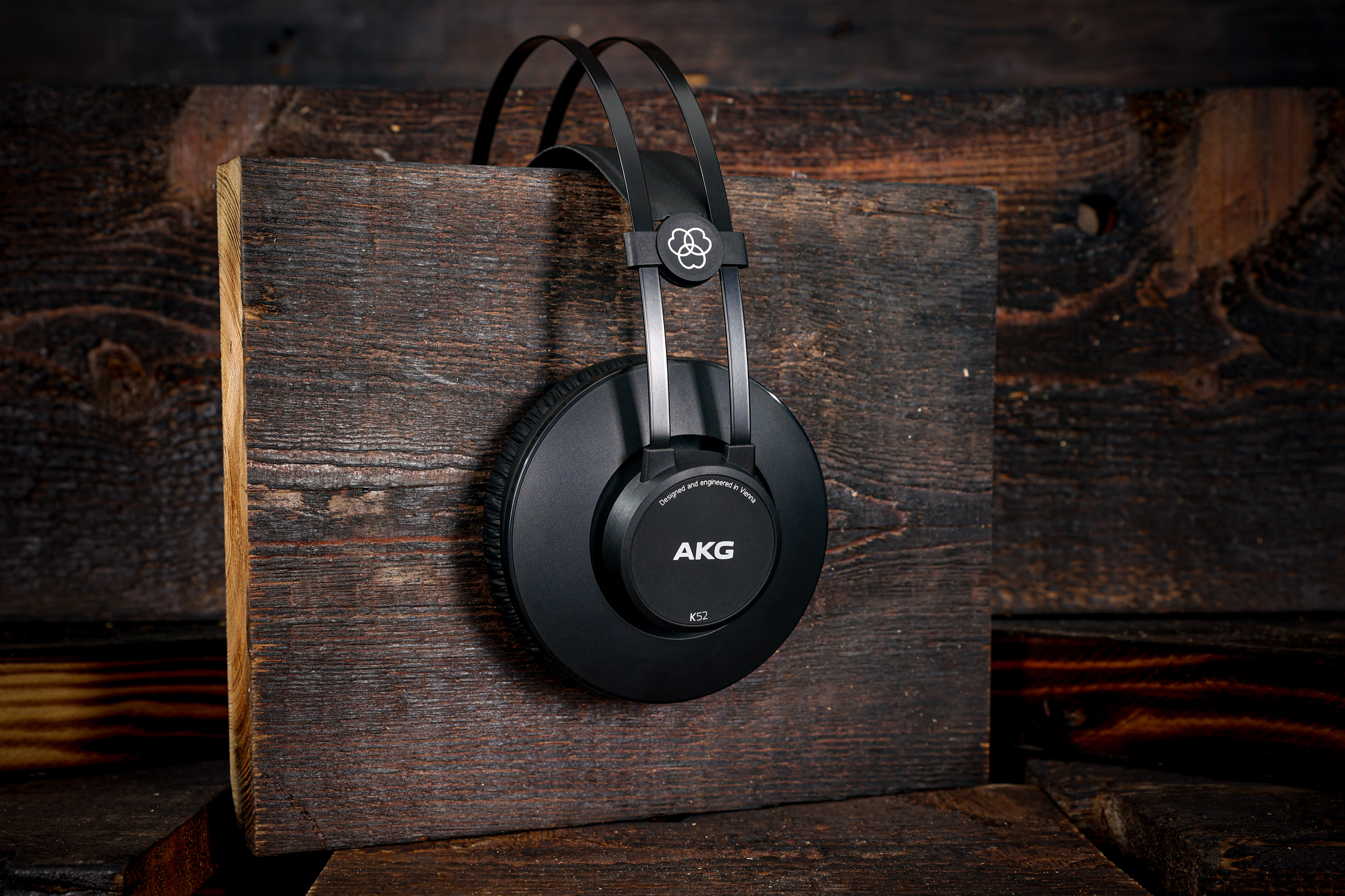 AKG K52 Closed-Back Studio Headphones